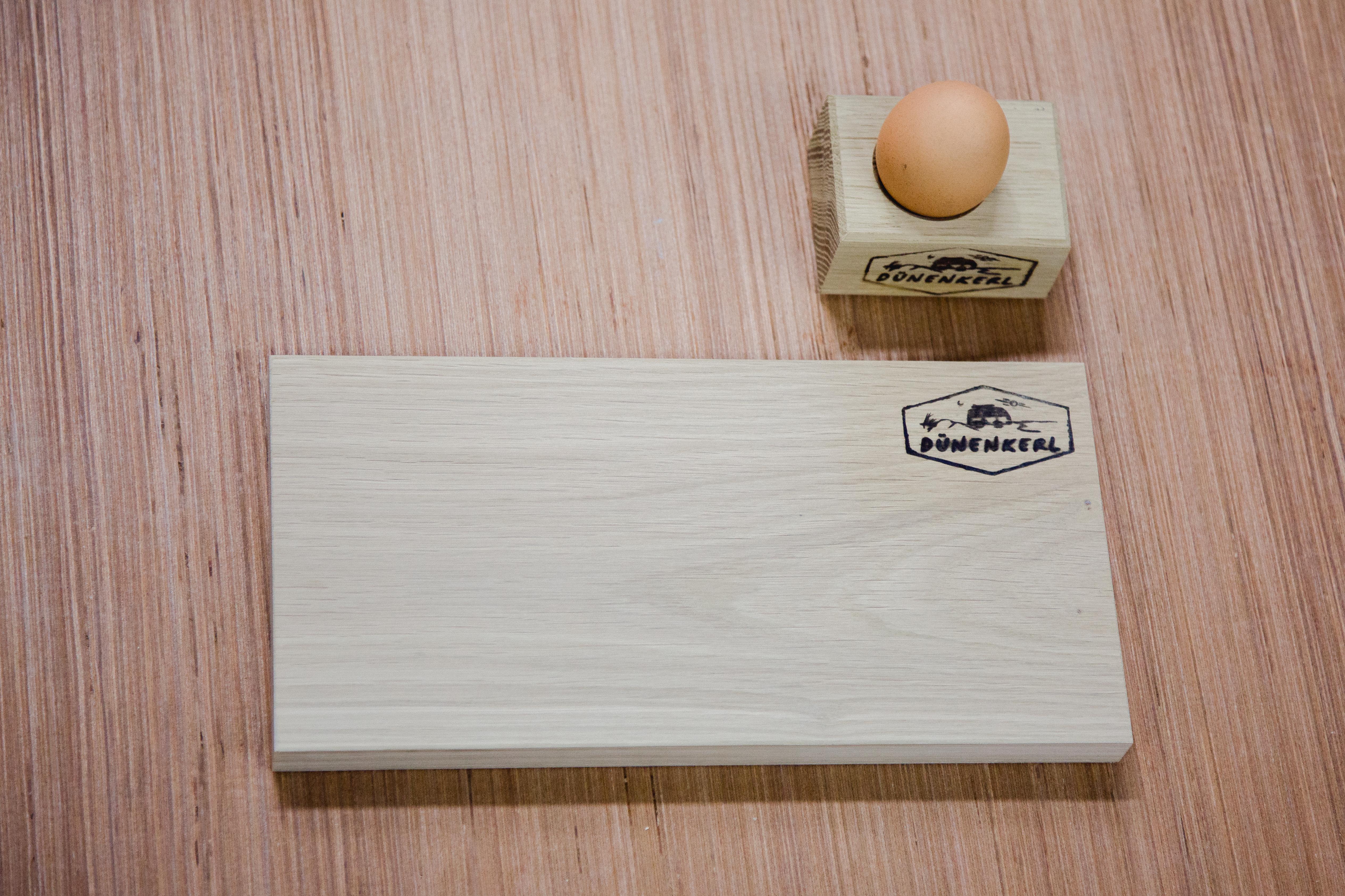 Frühstücksbrett plus Eierbecher – Duenenkerl